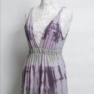 Alternative Womens Cotton Deep Plunge Sun Dress